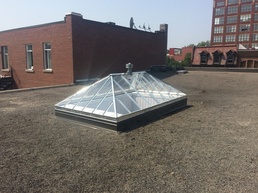 Skylights Manufacturing Montreal Acrylic Dome Amp Pyramid